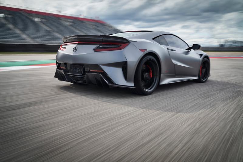 NSX Type S擁有更豐富的視覺效果與更出色的空氣力學表現。