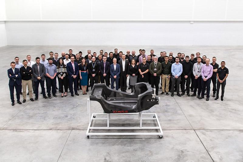 MCTC所開發的首款模組化碳纖維平台開始應用於全新混合動力超跑Artura上。