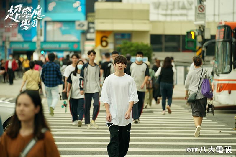 【車勢星聞】盧瀚霆在《超感應學園》中飾演香港留學生。(圖:八大電視提供)