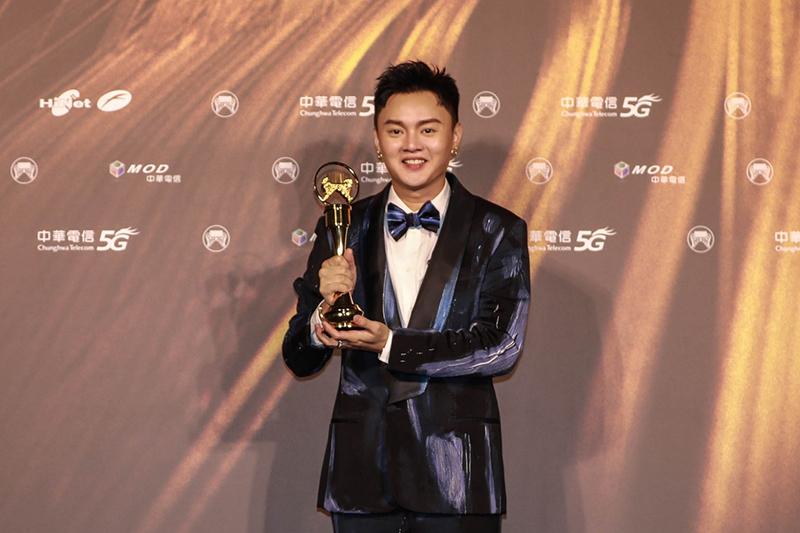 【車勢星聞】第32屆金曲獎最佳台語男歌手獎許富凱。(圖:台視提供)