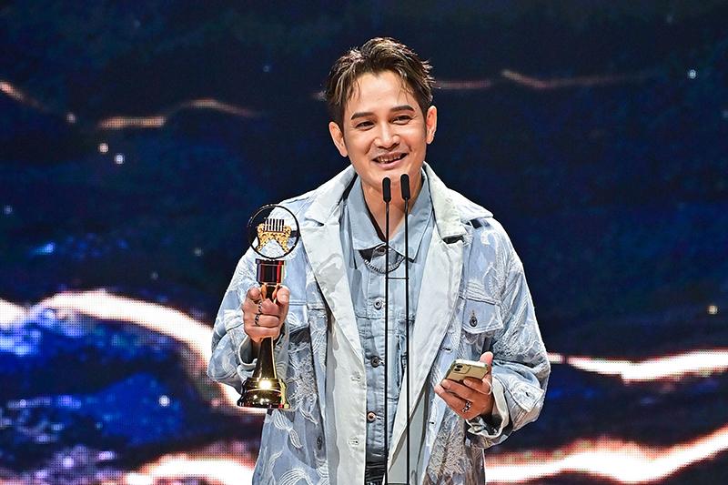 【車勢星聞】第32屆金曲獎最佳客語歌手獎羅文裕。(圖:台視提供)