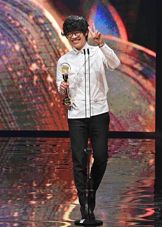 【車勢星聞】第32屆金曲獎年度歌曲獎《刻在我心底的名字》﹙演唱者:盧廣仲﹚。(圖:台視提供)