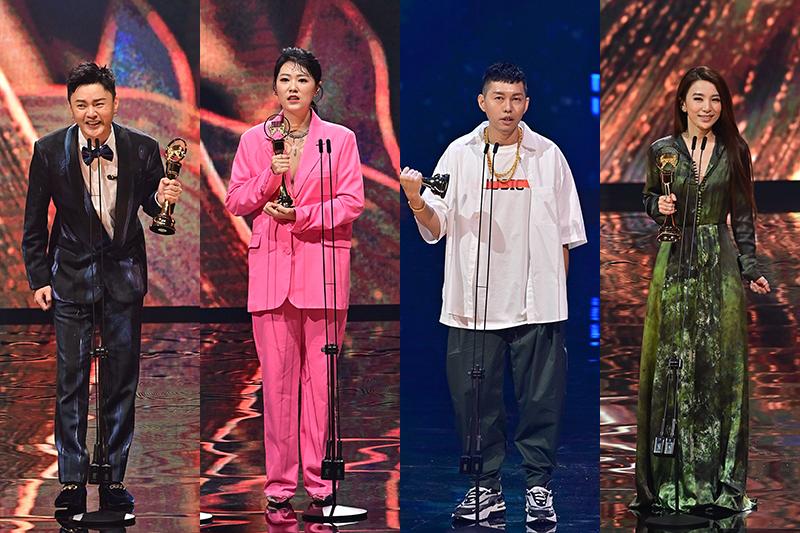 【車勢星聞】最新/第32屆金曲獎流行音樂類完整得獎名單。(圖:台視提供)