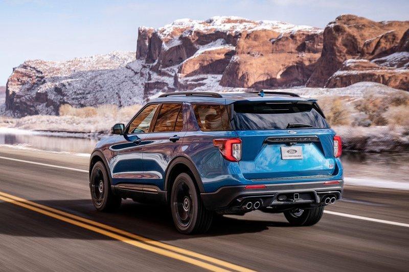 Ford針對2022年式Explorer ST新增後輪驅動車型。