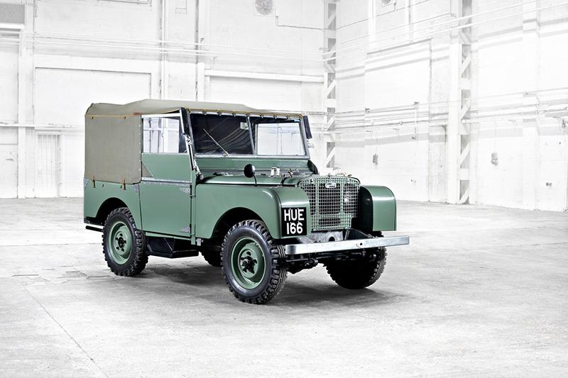 始於1948年,阿姆斯特丹車展所發表的第一款Series I。