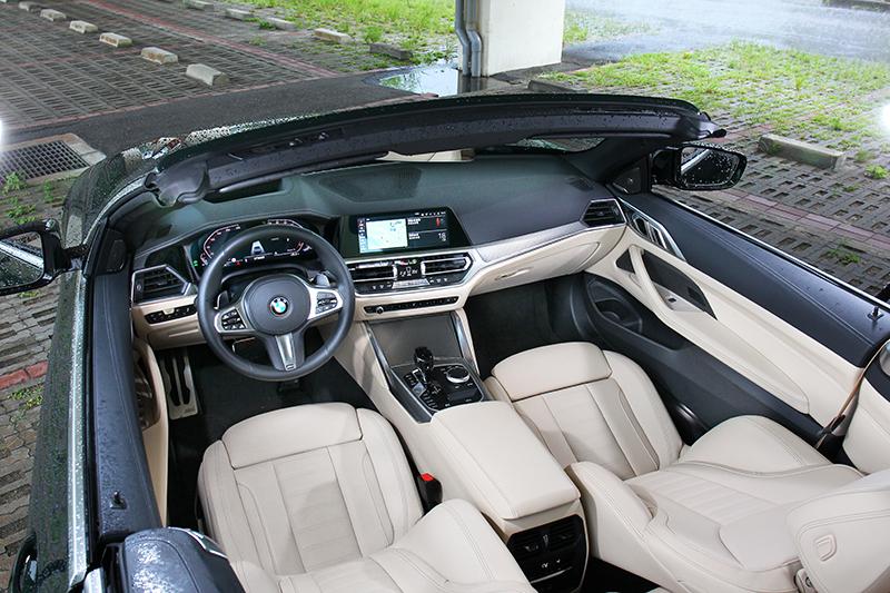 前座相當BMW,就是那種很難挑出毛病的恰到好處。