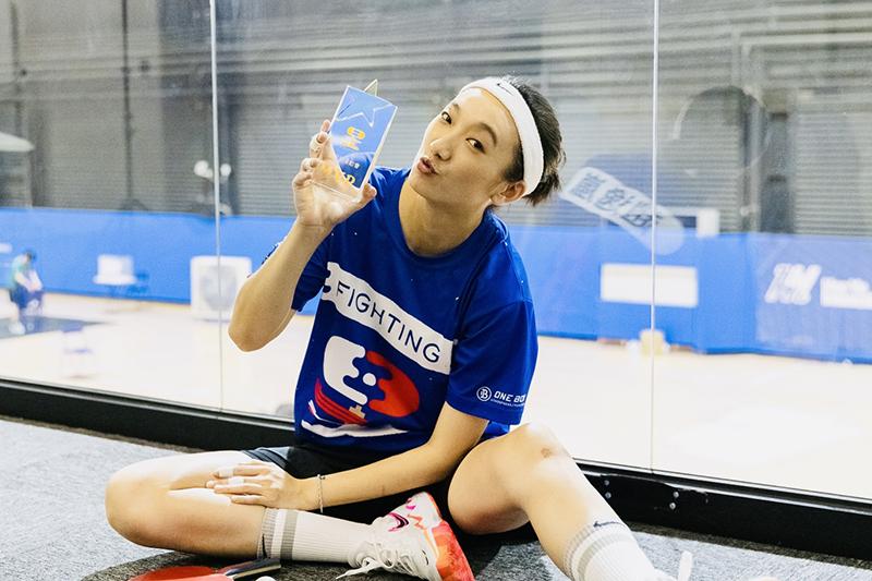 【車勢星聞】《全明星運動會》趙逸嵐曾考慮退賽,MVP獻給藍隊女生。(圖:凱渥提供)