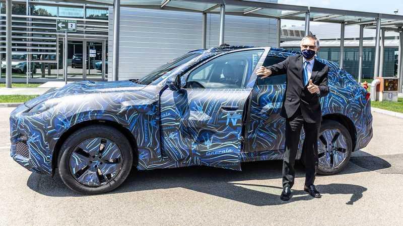 Maserati Grecale預計11月發表。