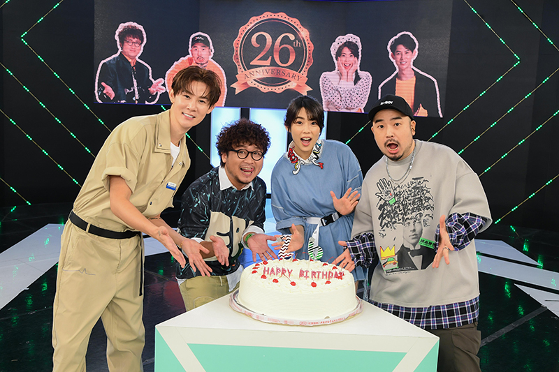 【車勢星聞】《完全娛樂》喜迎26周年,邀《全明星運動會》藝人再度PK。(圖:三立提供)