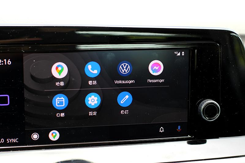 同樣有支援Apple Carplay/Android Auto,只是為有線連接。