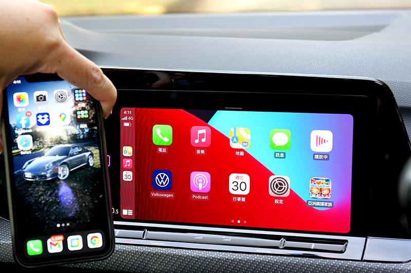 配備無線Apple Carplay/Android Auto。