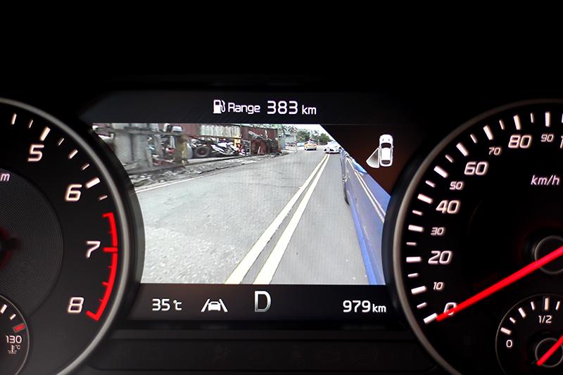 品牌最新BVM盲區顯影輔助系統也提供選配。