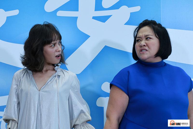 金鐘視后鍾欣凌(右)與黃姵嘉(左)婆媳飆戲