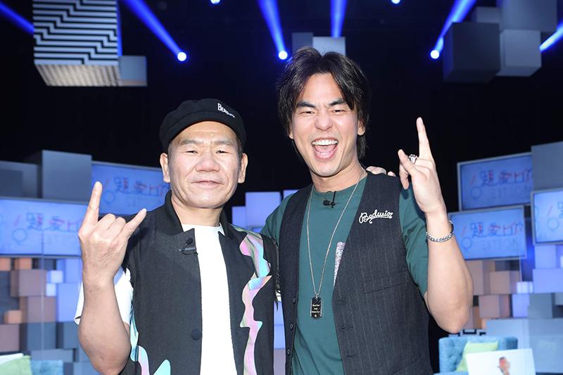 【車勢星聞】趙傳、柯有倫(左、右)同上公視《36題愛上你》。(圖:公視提供)