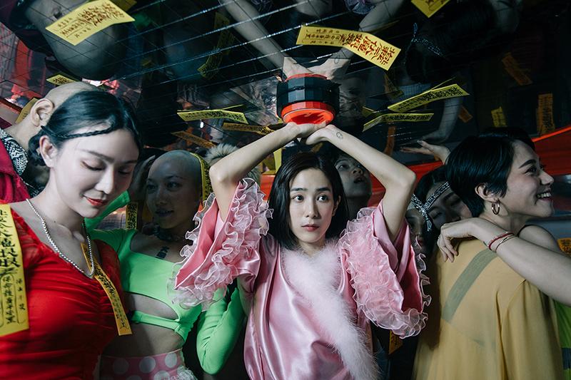【車勢星聞】温貞菱拍攝高雄電影節年度形象廣告。(圖:高雄電影展提供)
