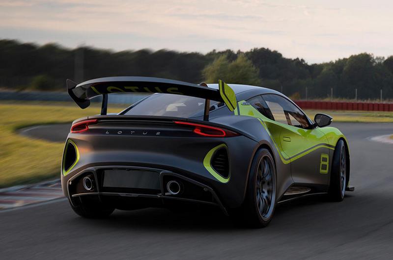 Lotus針對賽事推出Emira GT4。