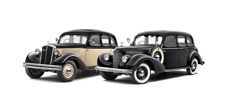 1935年的Superb 640與1939年的Superb 3000 OHV。