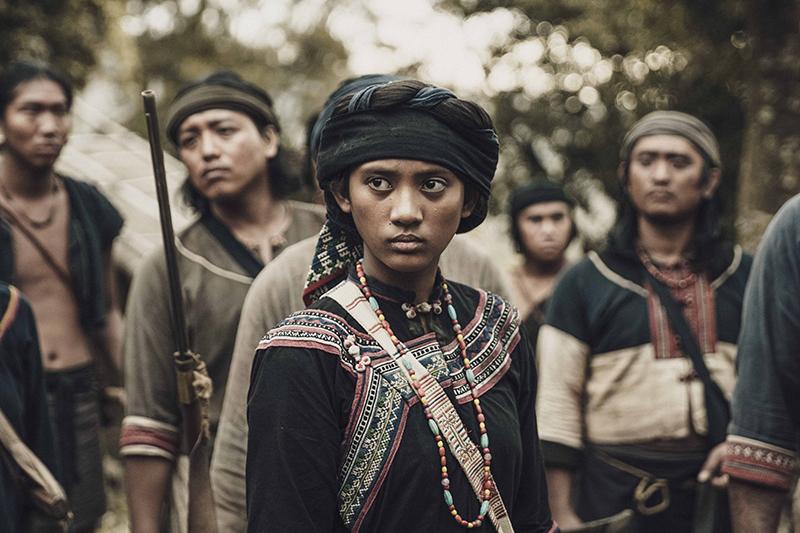 【車勢星聞】《斯卡羅》中飾演「斯卡羅公主」是出身自屏東排灣族的素人演員程苡雅,拍攝時年僅13歲。(圖:公視提供)