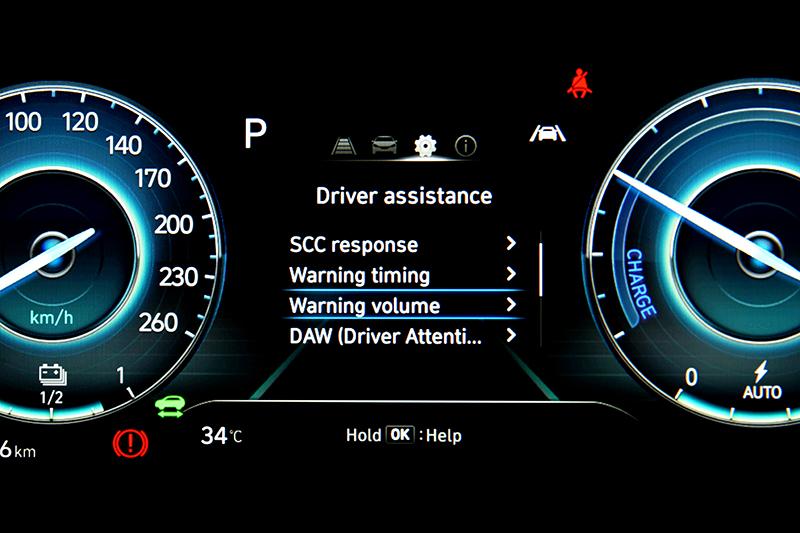 Level 2等級的半自動駕駛輔助科技同樣是Kona EV吸引買家的一大賣點
