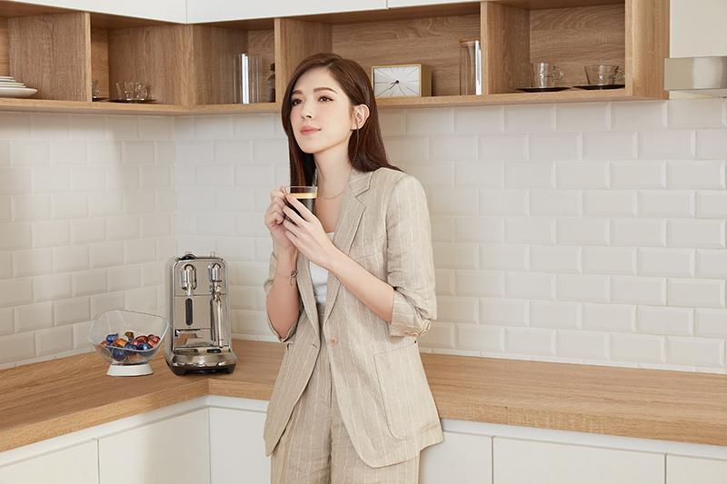 【車勢星聞】Nespresso咖啡永續大使許瑋甯身體力行實踐永續生活。(圖:品牌提供)