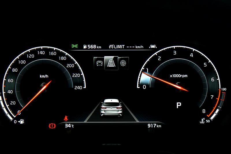 此次100台免費升級12.3吋數位儀表,在Sport模式下會有另一種介面。