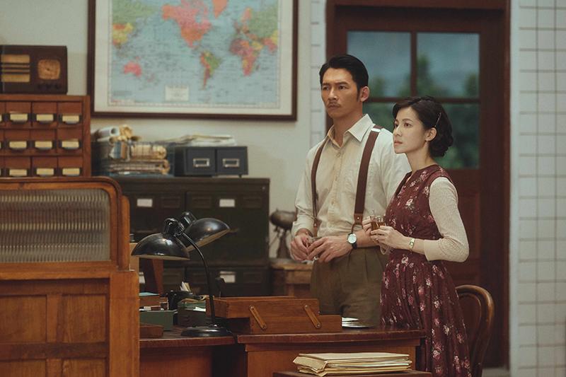 【車勢星聞】溫昇豪演出《茶金》,有台版亂世佳人氣勢。(圖:公視提供)