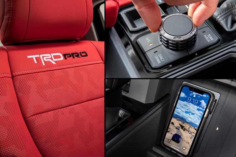 Toyota於7月釋出Tundra座艙資訊,配有地形模式、無線充電與TRD Pro座椅。