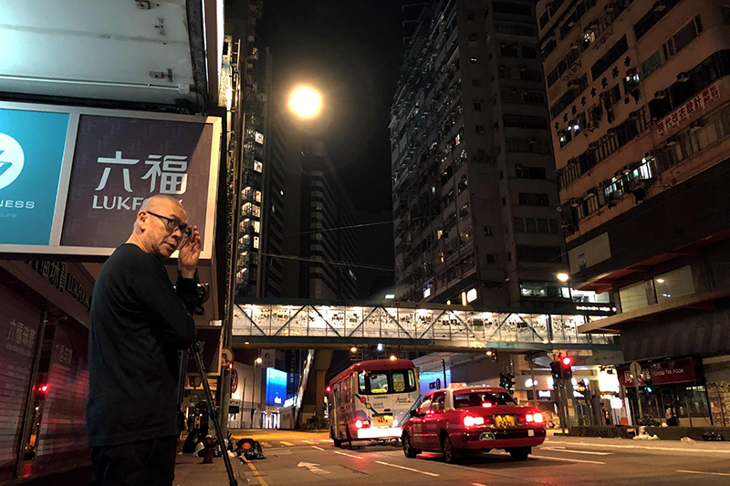 【車勢星聞】蔡明亮執導紀錄短片《良夜不能留》擔任2021高雄電影節開幕片之一。(圖:高雄電影節提供)