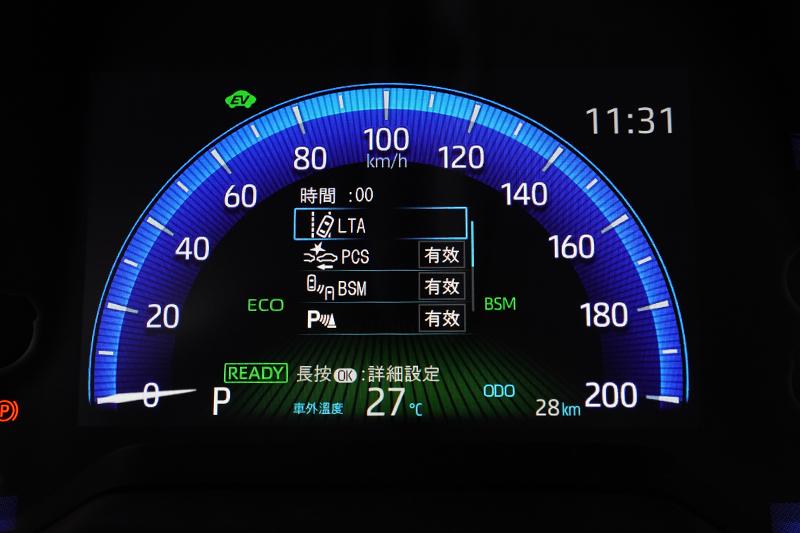 駕駛輔助科技承襲新年式車型那套具備全速域ACC及LTA車道循跡輔助的TSS 2.0系統