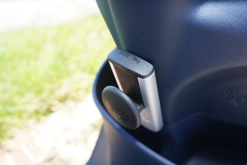 頂配版置物鉤的承重能力相較一般版來的更強,未來也能因應不同的選用配備加以置換