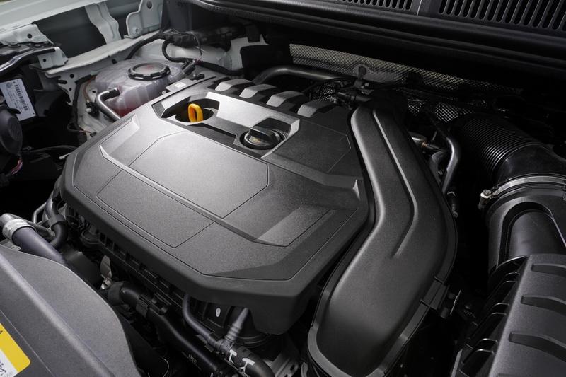 動力輸出為單一1.5升TSI汽油渦輪引擎選項,具備114匹最大馬力與22.4公斤米最大扭力