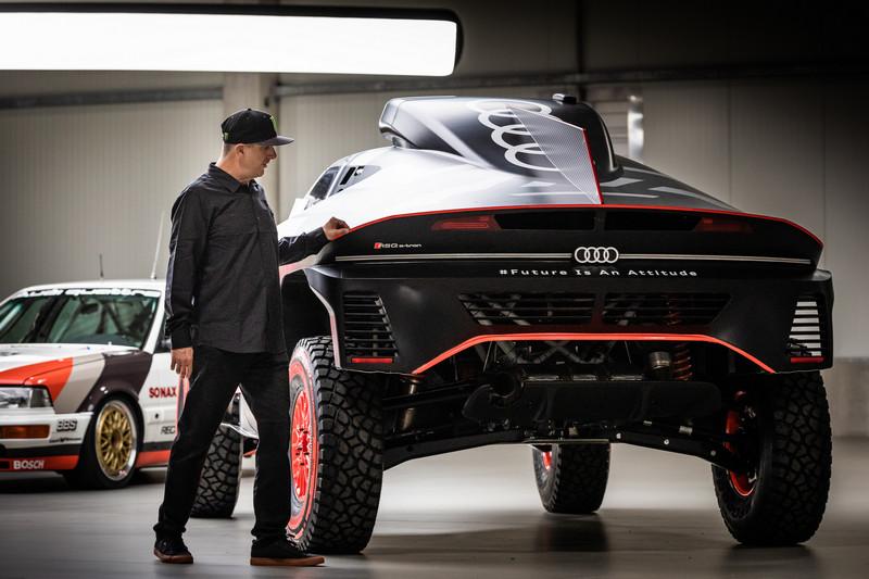 Ken Block或許會對RS e-tron GT與拉力賽提供想法。