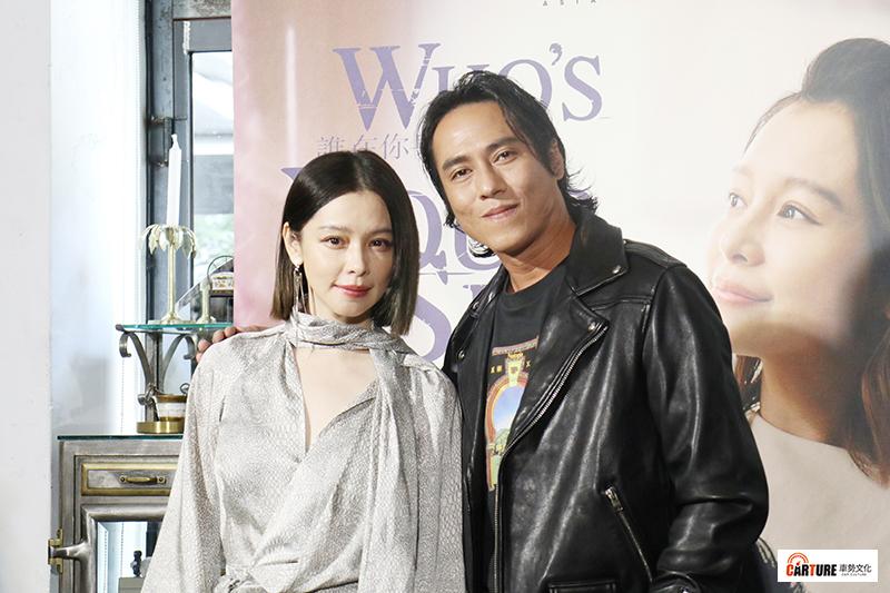 【車勢星聞】《誰在你身邊》劇中飾演夫妻的男女主角徐若瑄、莊凱勛首度聯袂亮相出席媒體茶敘。