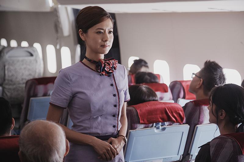 【車勢星聞】林予晞在《戒指流浪記》飾演空服員。(圖:晴天影像提供)