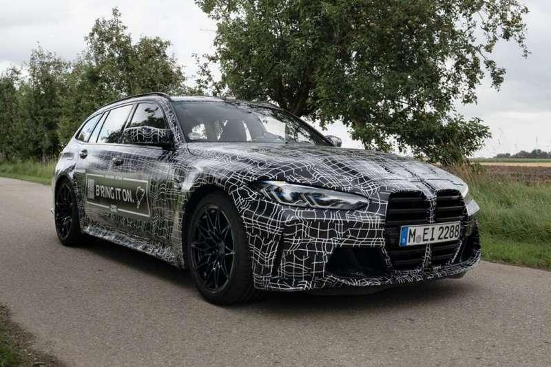 BMW釋出M3 Touring偽裝照。