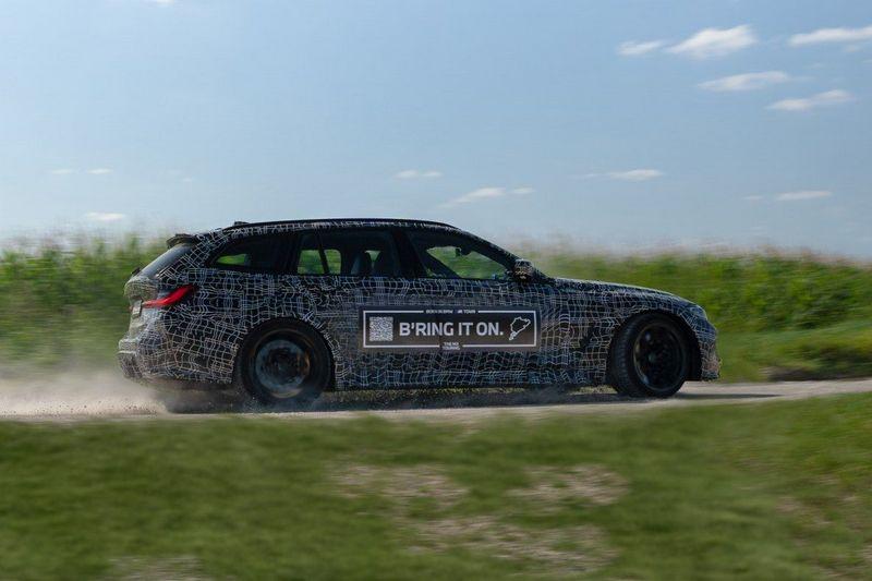 M3 Touring實際樣貌就是M3+3系列旅行車組合。
