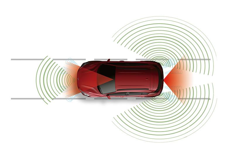 Ford率同級車之先導入符合美國汽車工程師協會(SAE)所定義Level 2自動駕駛的Ford Co-Pilot360™全方位智駕科技輔助系統。