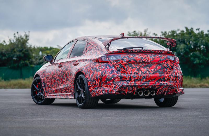 Honda釋出Civic Type R偽裝照,表示將前往紐柏林進行測試。