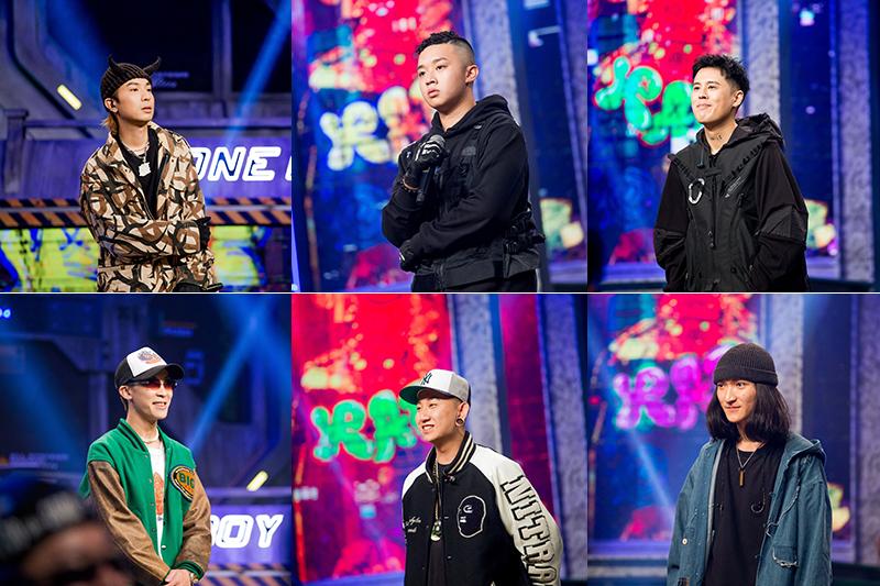 【車勢星聞】《大嘻哈時代》YoungLee、Yappy、潤少、Sowut、禪波Zenbø、wannasleep爭奪總冠軍。(圖:三立提供)