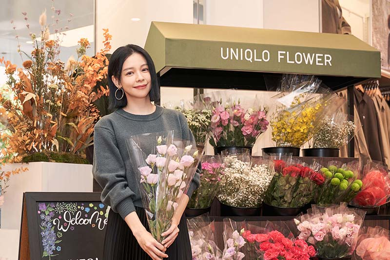 【車勢星聞】Uniqlo Taipei全球旗艦店10/8正式開幕,徐若瑄如願擔任代言。(圖:品牌提供)