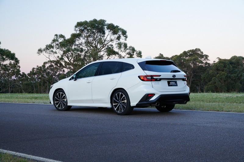 澳洲Subaru真的帶來2.4升渦輪引擎的WRX Sportswagon。