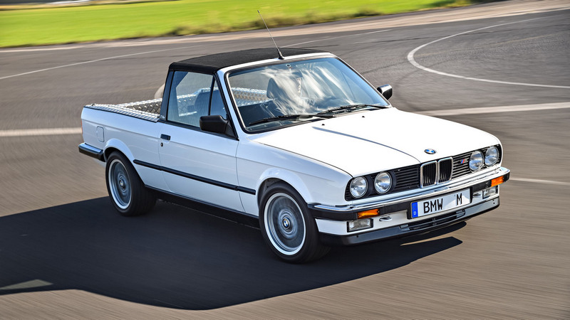 其實BMW有推出過E30 M3與E92 M3 Pickup,只是沒有量產販售。