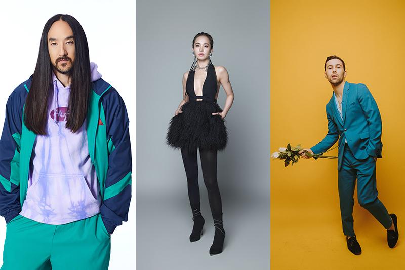 【車勢星聞】Jolin蔡依林推出全新單曲《都没差(Equal In The Darkness)》,是她首次與百大DJ Steve Aoki以及歌手Max合作。(圖:Liquid State提供)