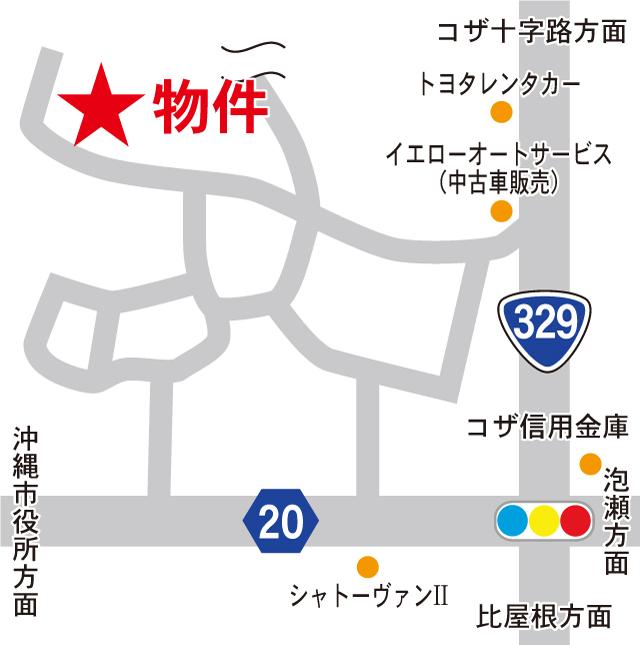 コンフォート シマ 地図