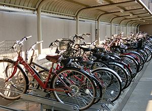 自転車置き場も確認が必要