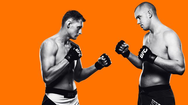UFCファイトナイト・ロッテルダム:ストルーフェ vs. ボルコフ