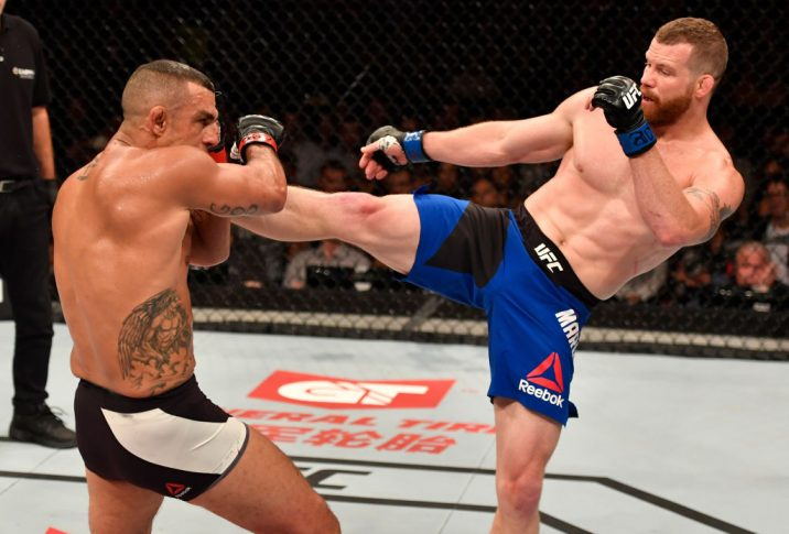 UFC 212:ビトー・ベウフォート vs. ネイサン・マーコート【ブラジル・リオデジャネイロ/2017年6月3日(Photo by Jeff Bottari/Zuffa LLC/Zuffa LLC via Getty Images)】