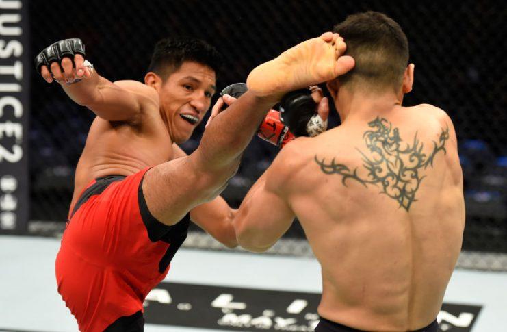 UFC 211:ガブリエル・ベニテス vs. エンリケ・バルソラ【アメリカ・テキサス州ダラス/2017年5月13日(Photo by Josh Hedges/Zuffa LLC/Zuffa LLC via Getty Images)】