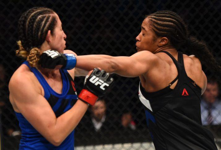 UFCファイトナイト・ナッシュビル:ジェシカ・ペネ vs. ダニエル・テイラー【アメリカ・テネシー州ナッシュビル/2017年4月22日(Photo by Jeff Bottari/Zuffa LLC/Zuffa LLC via Getty Images)】