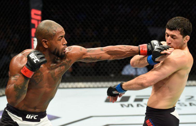 UFCファイトナイト・カンザスシティ:ボビー・グリーン vs. ラシッド・マゴメドフ【アメリカ・ミズーリ州カンザスシティ/2017年4月15日(Photo by Josh Hedges/Zuffa LLC/Zuffa LLC via Getty Images)】